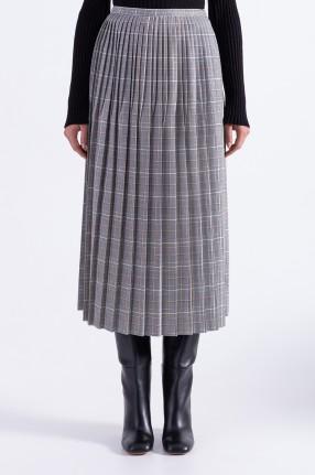 MARNI Плиссированная юбка в клетку