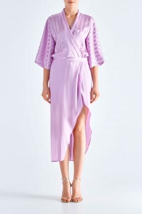 MICHELLE MASON Платье в полоску