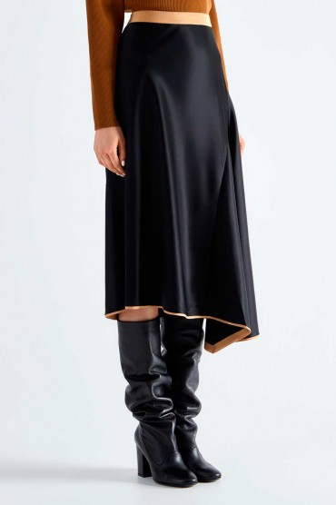 Ассиметричная юбка MO&CO EDITION MCEp29008
