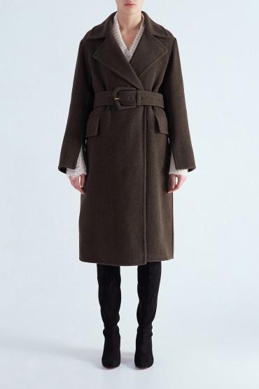 Двубортное пальто MO&CO EDITION MCEw29005
