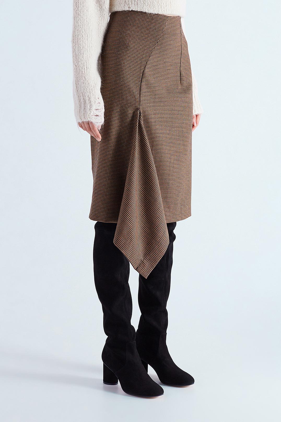 Асимметричная юбка MO&CO EDITION MCEw29007
