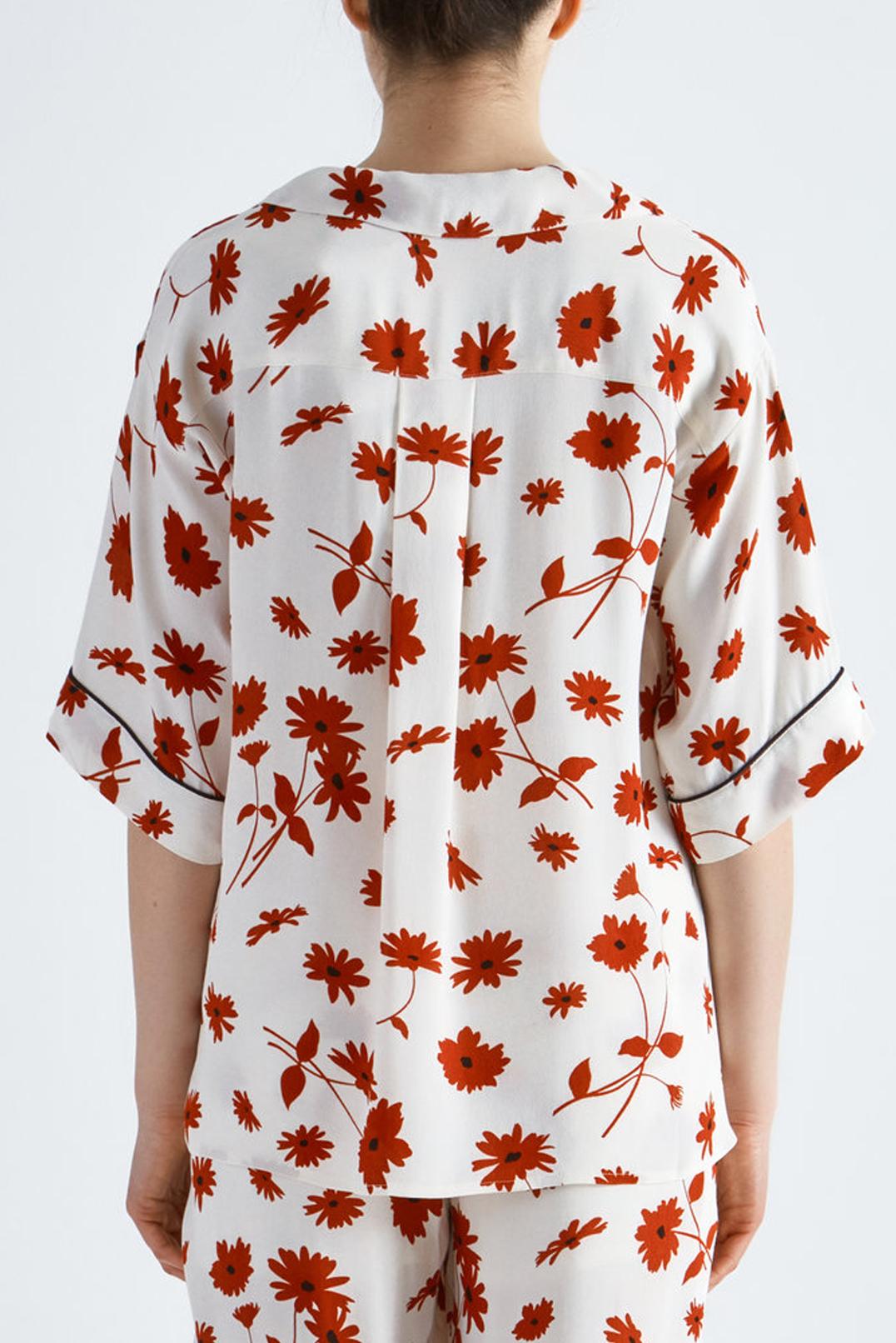 Блуза oversize с принтом MO&CO MCp19014