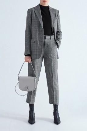 MO&CO Укороченные брюки в клетку