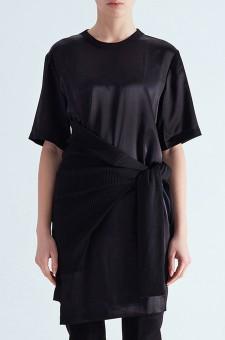 Двухслойное платье