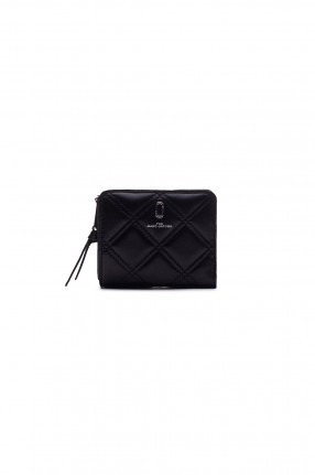 MARC JACOBS Кошелек THE QUILTED SOFTSHOT MINI COMPACT