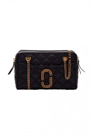 Cтеганая сумка с логотипом MARC JACOBS MJb10016