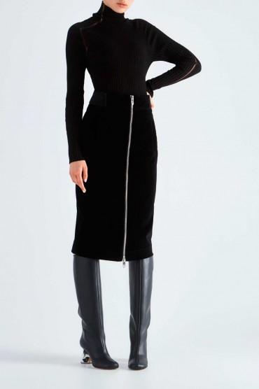 Бархатная юбка MARC JACOBS MJp29001