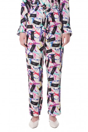 MARC JACOBS Укороченные брюки с принтом