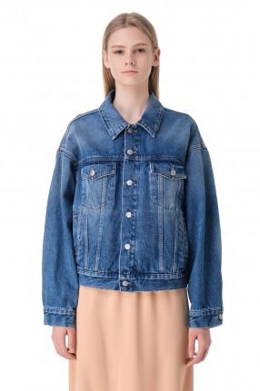MM6 MAISON MARGIELA Джинсовая куртка