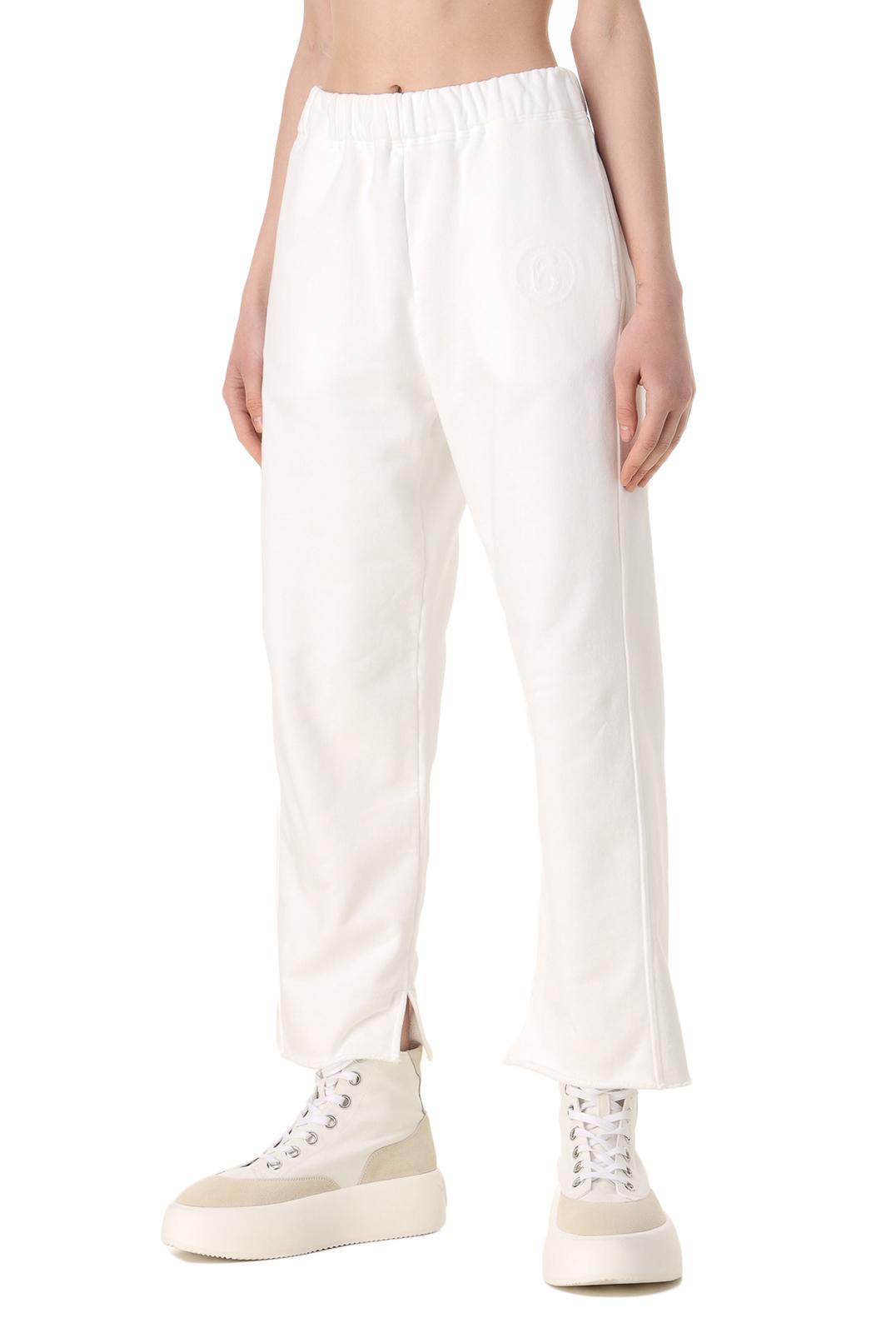 Укороченные брюки с логотипом MM6 MAISON MARGIELA MM611010
