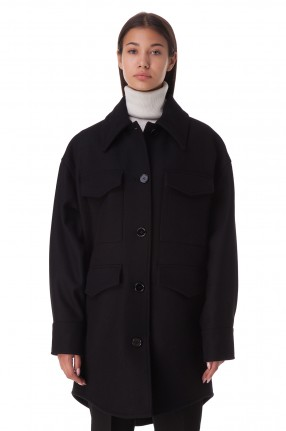 MM6 MAISON MARGIELA Пальто oversize