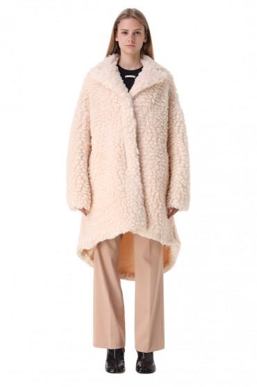 Пальто из эко-меха MM6 MAISON MARGIELA MM621001