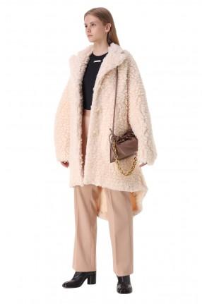 MM6 MAISON MARGIELA Пальто из эко-меха