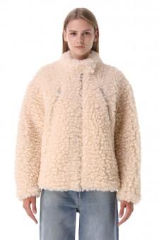 Куртка из эко-меха
