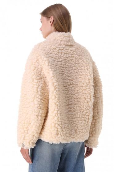 Куртка из эко-меха MM6 MAISON MARGIELA MM621002