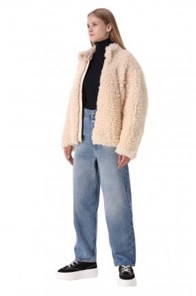 MM6 MAISON MARGIELA Куртка из эко-меха