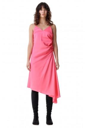 MM6 MAISON MARGIELA Асимметричное платье-комбинация