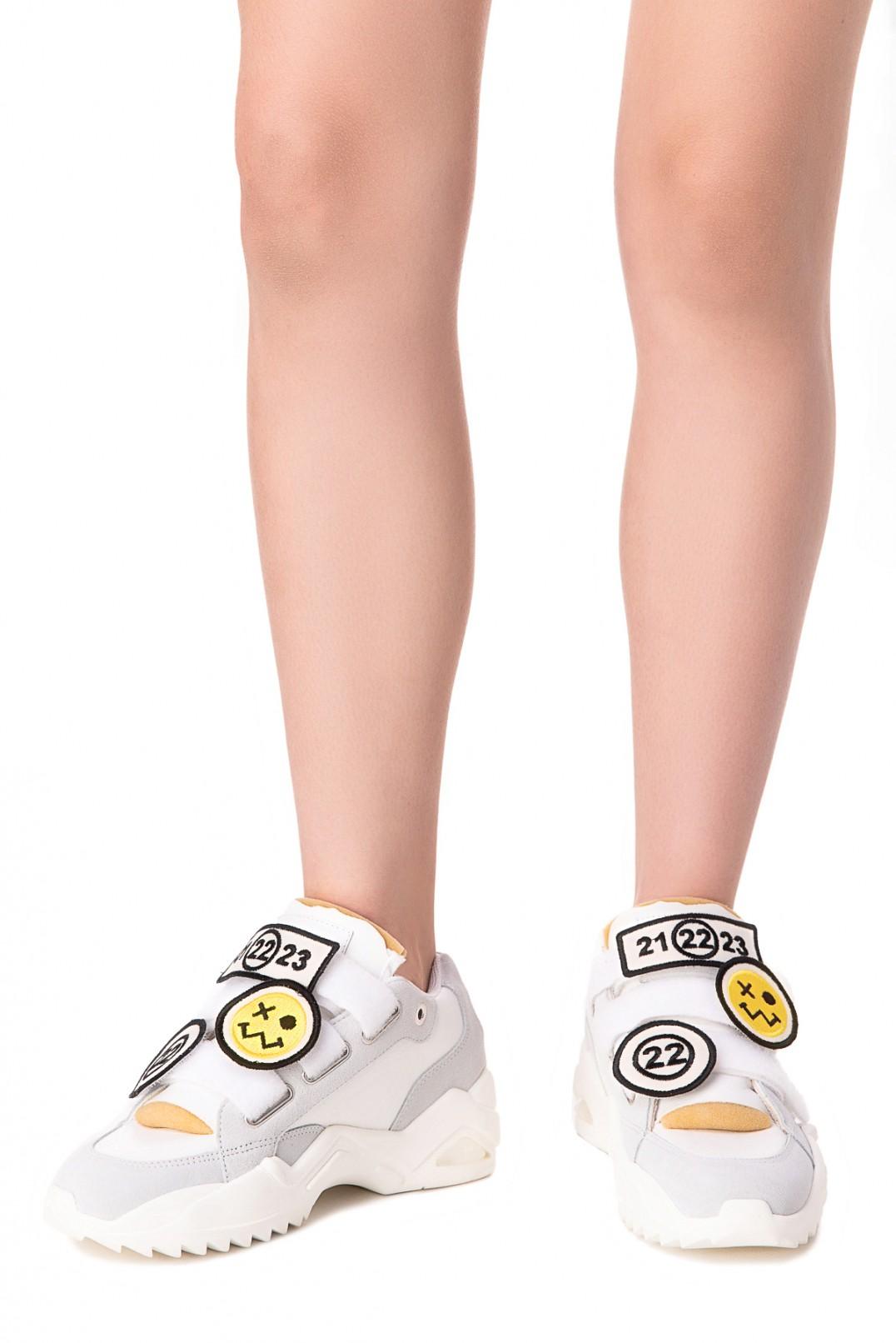 Кроссовки на липучках MAISON MARGIELA MMMa10004