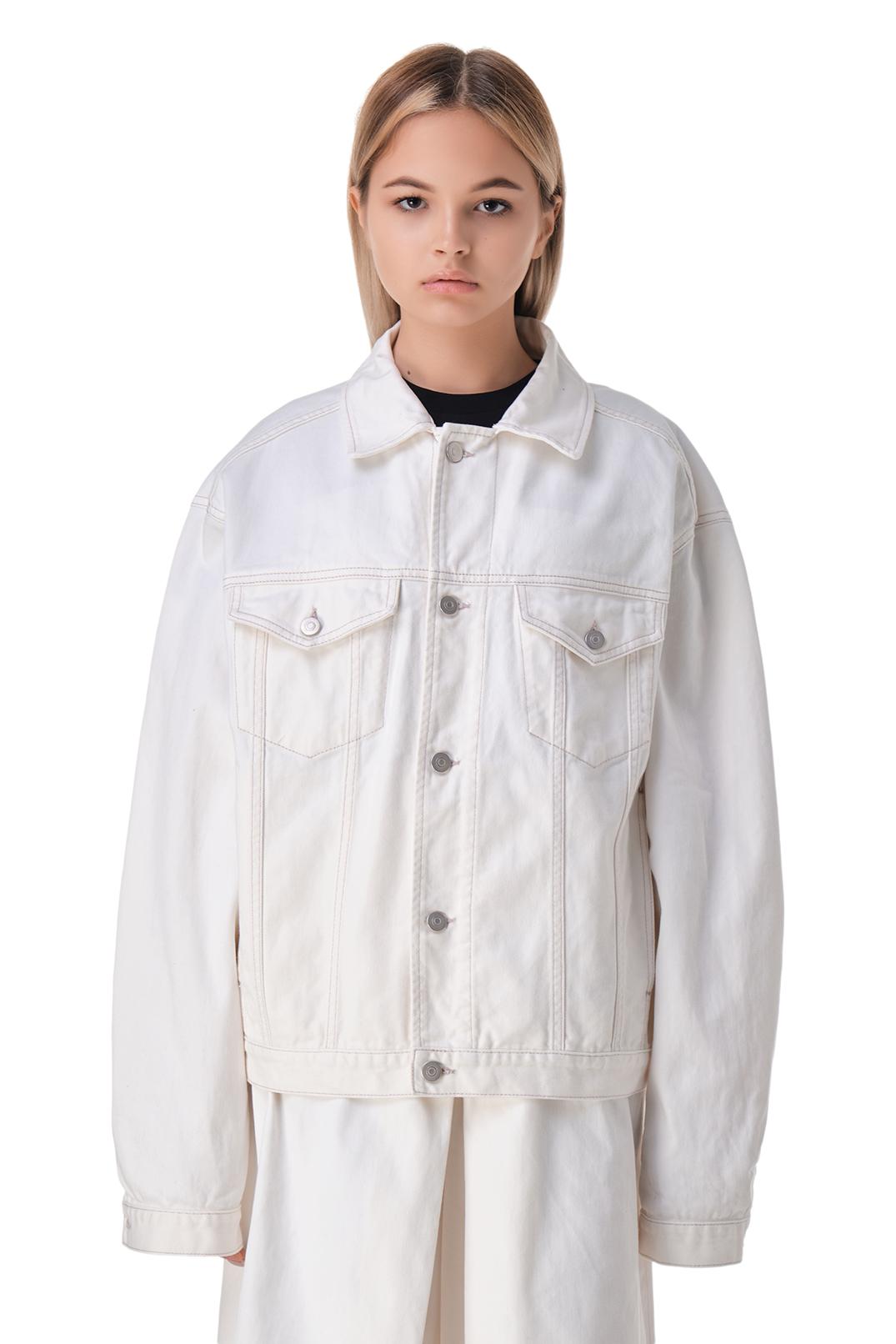 Джинсовая куртка oversize MAISON MARGIELA MMMw11001