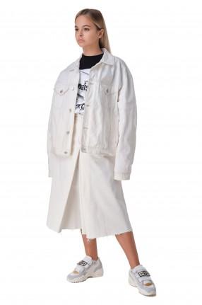 MAISON MARGIELA Джинсовая куртка oversize