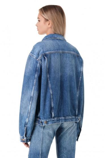 Джинсовая куртка MAISON MARGIELA MMMw11002