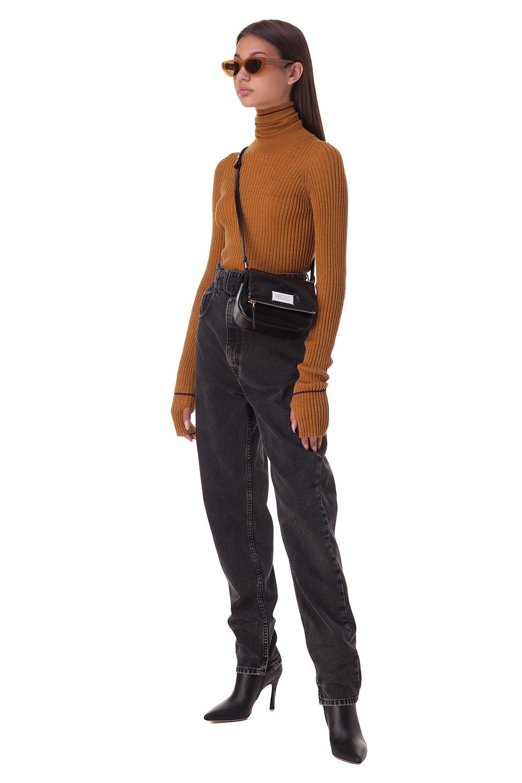 Удлиненные джинсы MAISON MARGIELA MMw20015