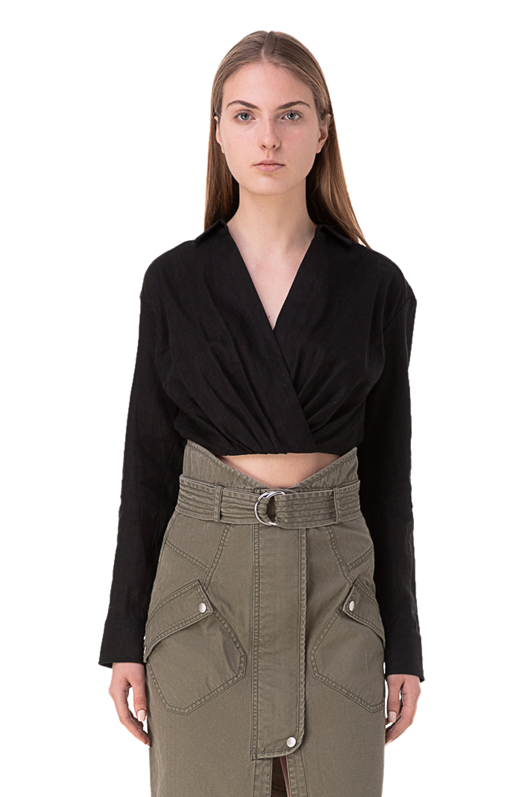 Укороченная блуза MARISSA WEBB MW10003