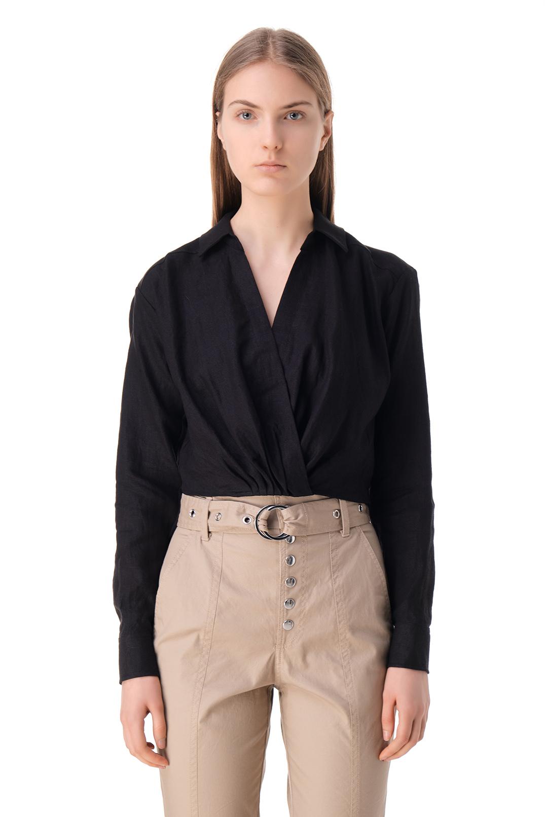 Укороченная блуза MARISSA WEBB MW11006