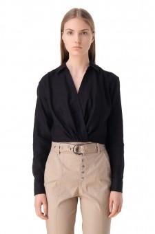 Укороченная блуза