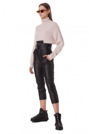 MARISSA WEBB Укороченные кожаные брюки