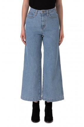 NANUSHKA Укороченные джинсы клеш