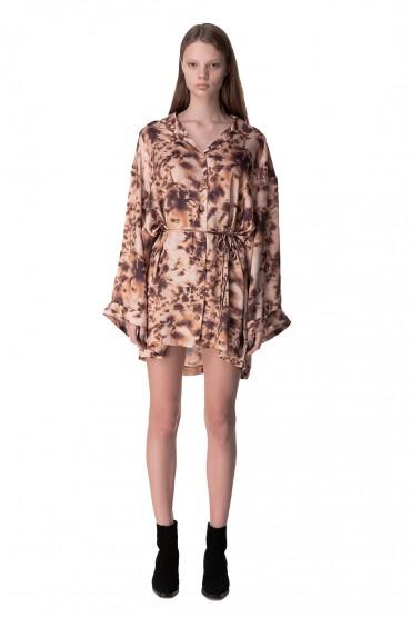 Платье-рубашка с принтом NANUSHKA NANp10021