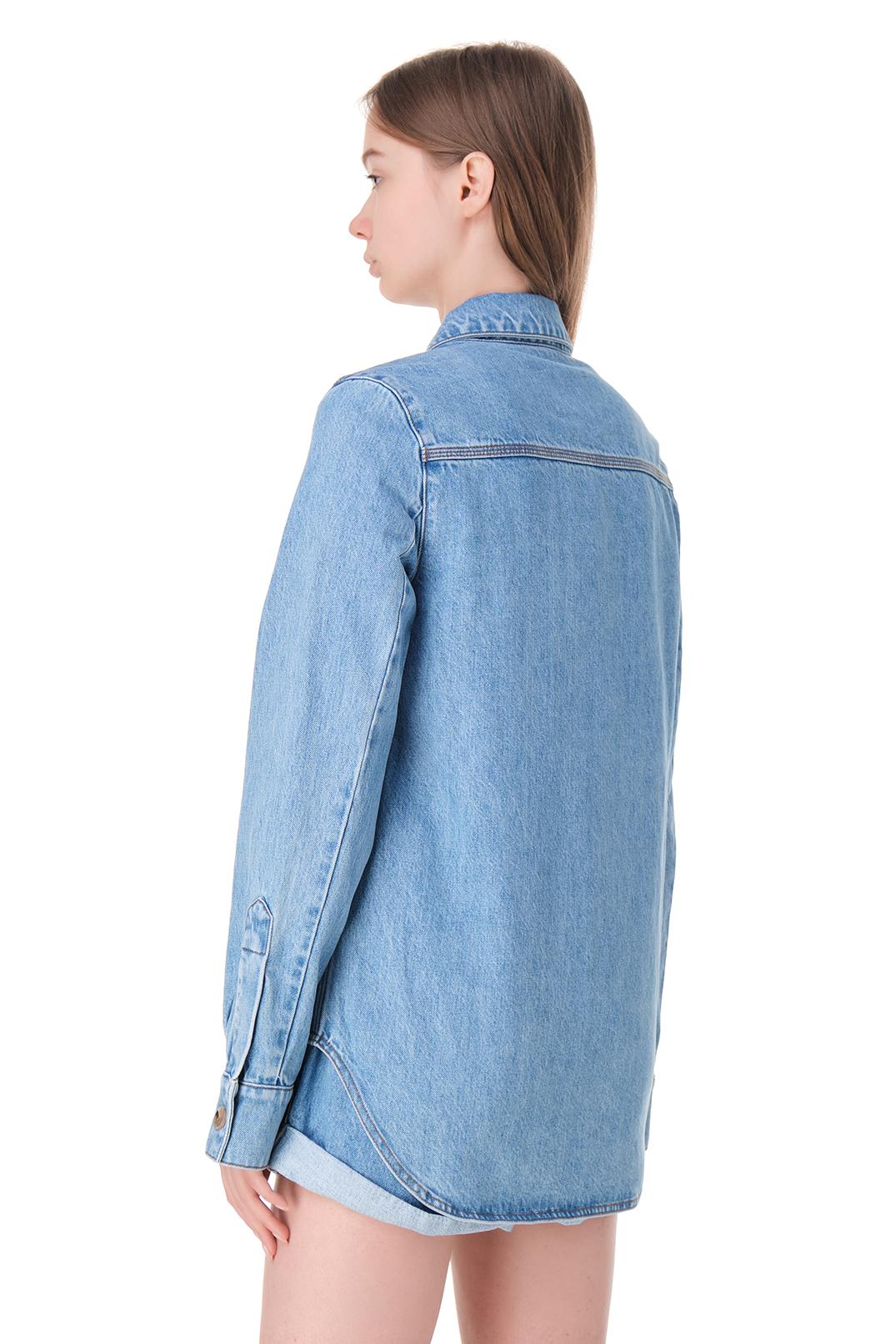 Джинсовая рубашка NANUSHKA NANp11004