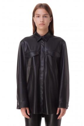 NANUSHKA Рубашка из эко-кожи