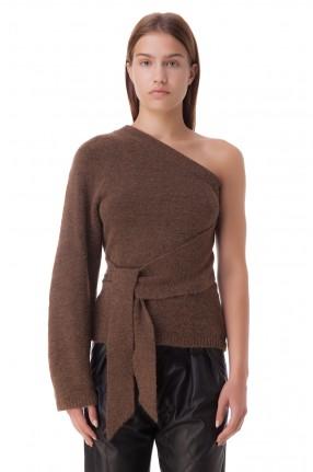 NANUSHKA Асимметричный свитер