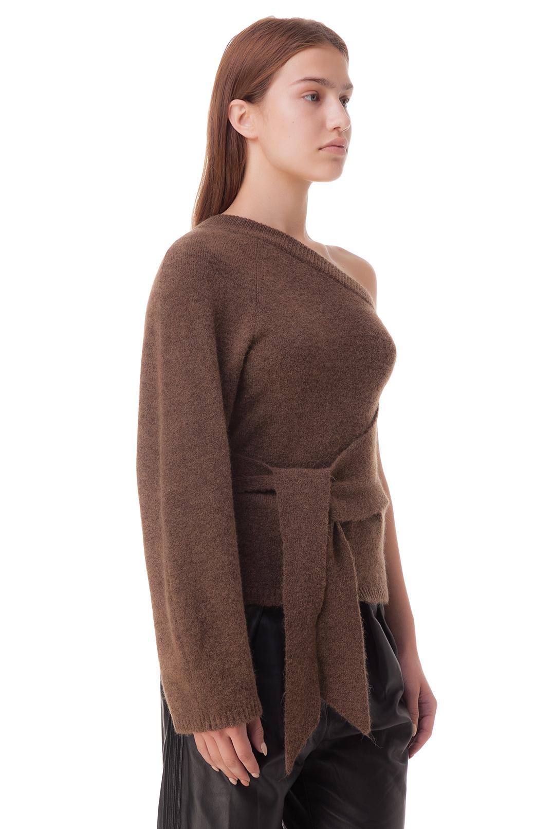 Асимметричный свитер NANUSHKA NANp20019
