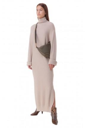 NANUSHKA Платье в рубчик