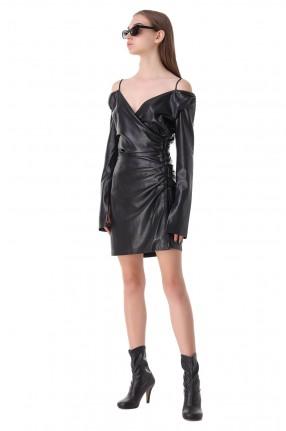 NANUSHKA Платье из эко-кожи