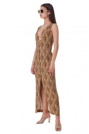 NANUSHKA Платье с принтом
