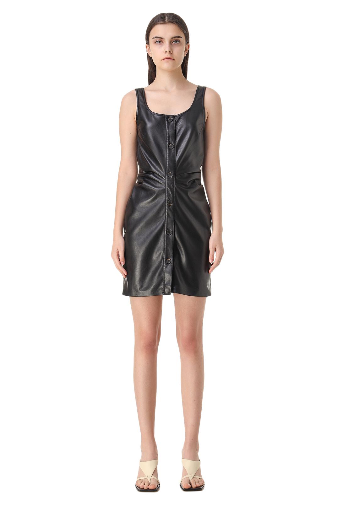 Платье из эко-кожи NANUSHKA NANw11008