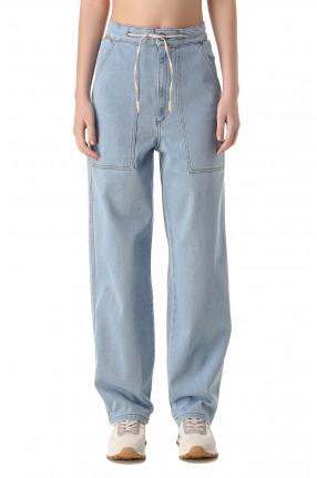 NANUSHKA Удлиненные джинсы
