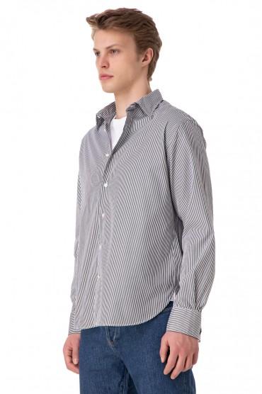 Рубашка в полоску OFFICINE GENERALE OFG11001
