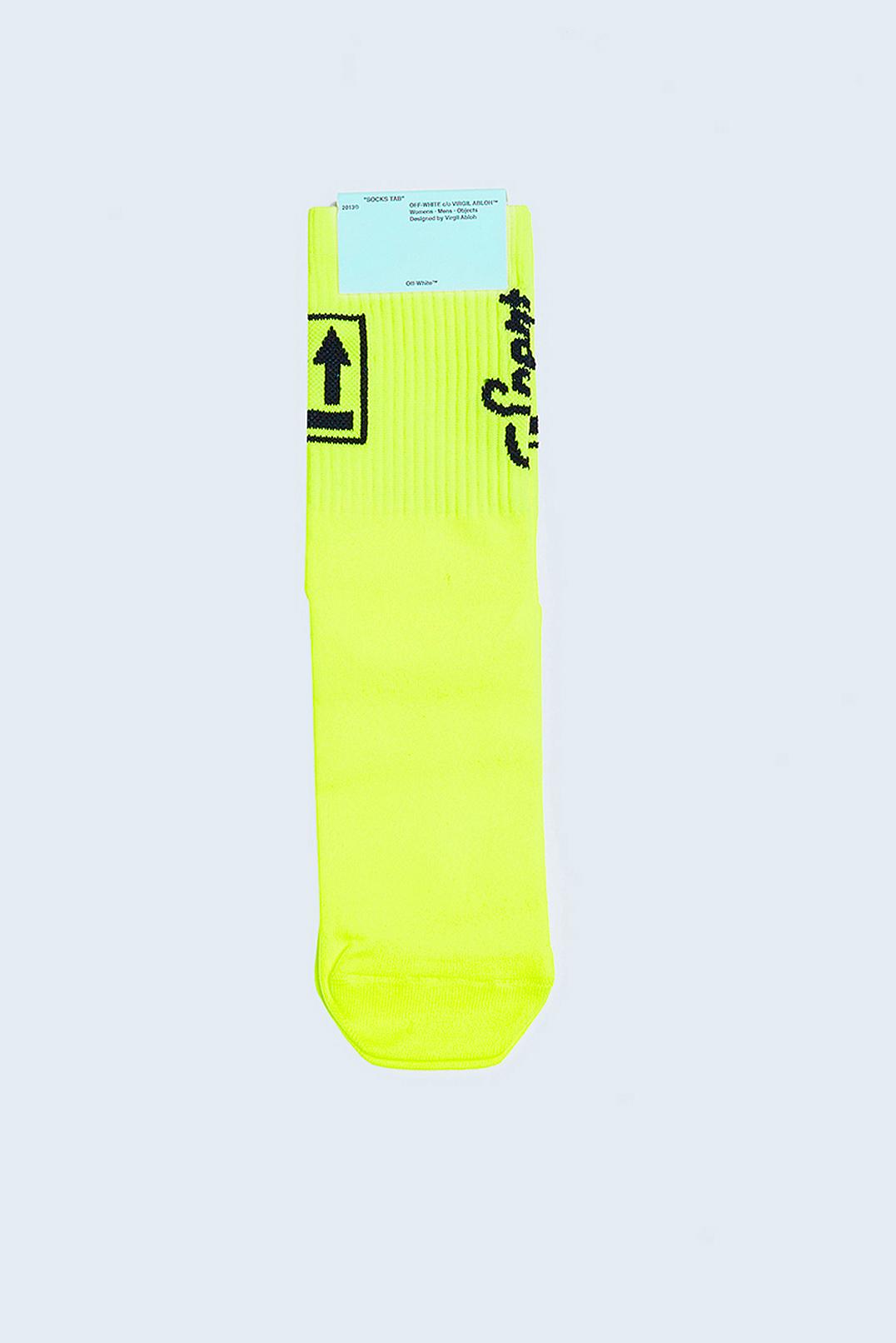 Носки с логотипами OFF-WHITE OFa19020