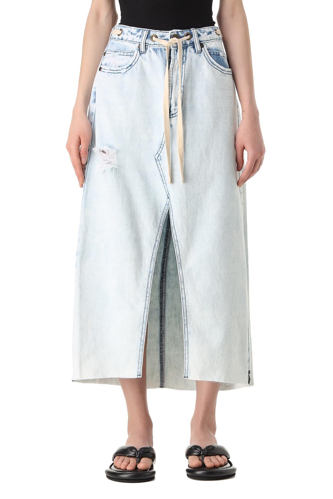 Джинсовая юбка ONE TEASPOON OTS11013
