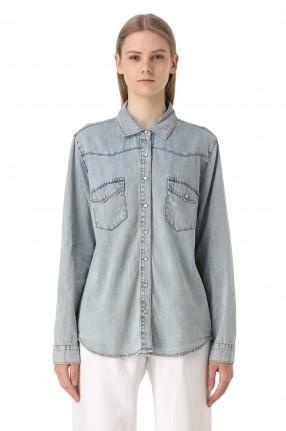 ONE TEASPOON Джинсовая рубашка