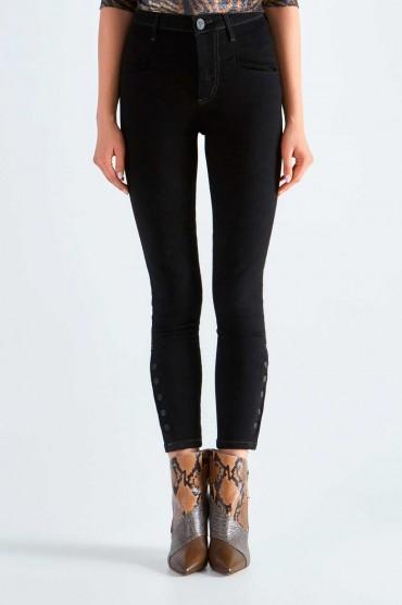 Укороченные джинсы ONE TEASPOON OTS29004