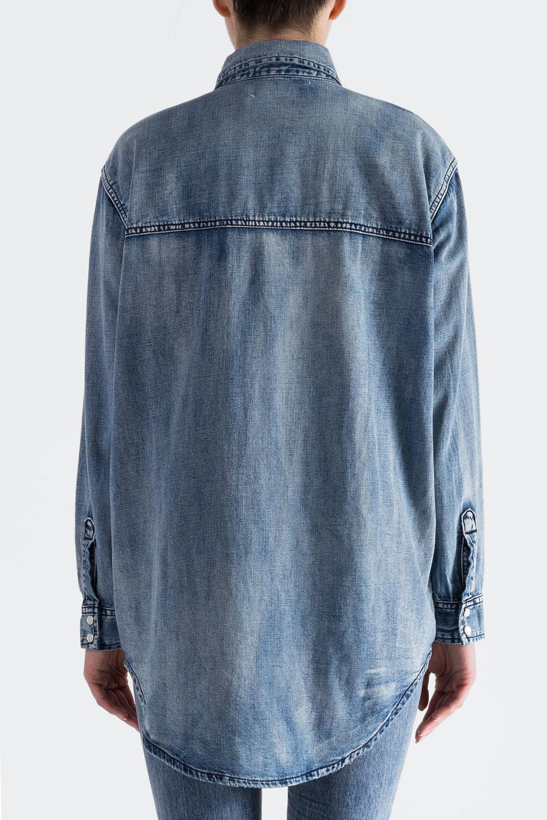 Джинсовая рубашка ONE TEASPOON OTSp19015