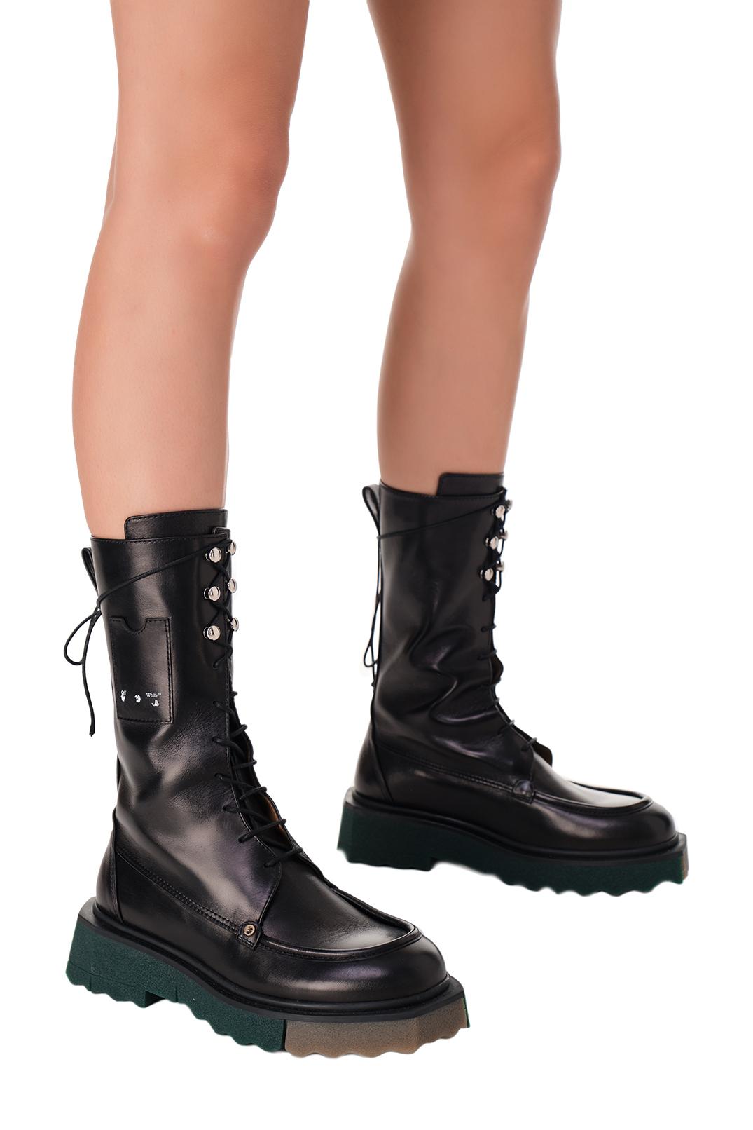 Ботинки COMBAT OFF-WHITE OWa11004