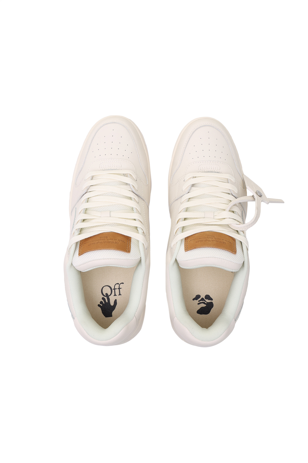 Кроссовки OUT OF OFFICE OFF-WHITE OWa21013