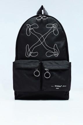 OFF-WHITE Рюкзак с принтом